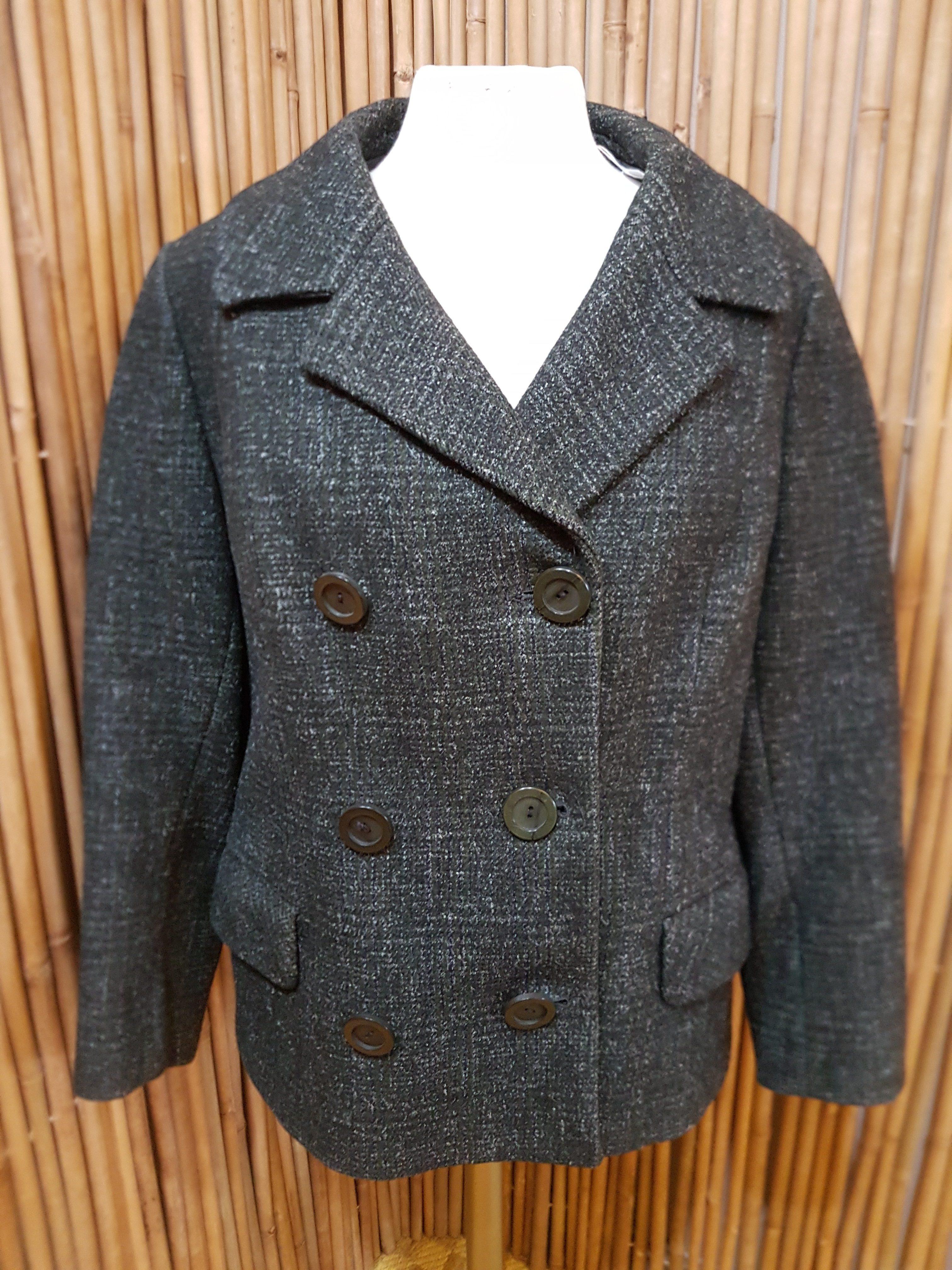 Womens Original 50s 60s Wool Jacket Tornado Vintage