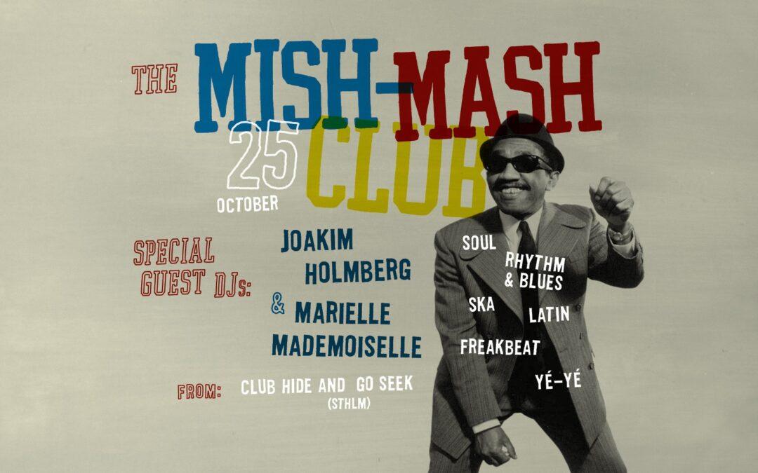 Mish-Mash Club Falun Fre 25 okt