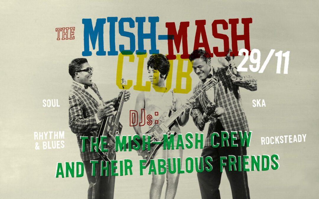 The Mish-Mash Club 29/11-2019 Rädhuskällarn Falun